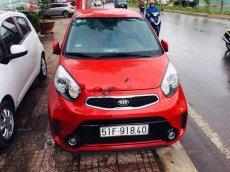 Bán xe Kia Morning Si AT sản xuất 2016, màu đỏ xe gia đình, giá tốt