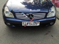 Xe Mercedes CLS 350 đời 2004, màu xanh lam, nhập khẩu