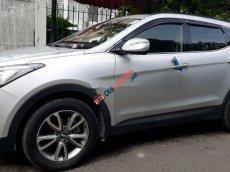 Bán ô tô Hyundai Santa Fe đời 2012, màu bạc, nhập khẩu