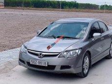 Cần bán Honda Civic 1.8 AT năm sản xuất 2007, màu bạc, giá tốt