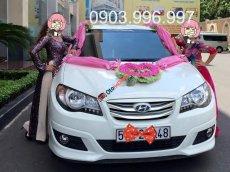 Cần bán gấp Hyundai Avante 1.6 AT đời 2011, màu trắng chính chủ