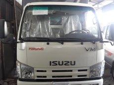 Bán xe tải Isuzu Vĩnh Phát 1T9 thùng dài 6m2 mui bạc, giá rẻ