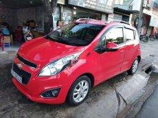 Cần bán xe Chevrolet Spark AT sản xuất năm 2014, màu đỏ
