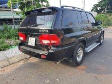 Cần bán Ssangyong Musso năm sản xuất 2004, màu đen, xe nhập