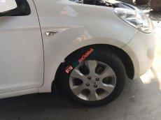 Bán Hyundai i20 năm sản xuất 2011, màu trắng, nhập khẩu nguyên chiếc xe gia đình