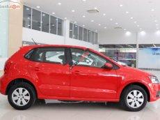 Cần bán Volkswagen Polo 1.6 AT sản xuất 2016, màu đỏ, nhập khẩu chính hãng