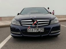 Cần bán xe Mercedes C200 đời 2012, màu xanh lam xe còn mới