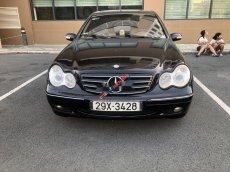 Cần bán lại xe Mercedes C200 MT sản xuất 2001, màu đen số sàn giá cạnh tranh
