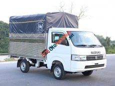 Suzuki Việt Long - Bán xe tải - Giá siêu tốt: Suzuki Super Carry Pro sản xuất 2020, màu trắng, thùng bạt