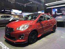 Bán ô tô Mitsubishi Attrage đời 2019, màu đỏ, xe nhập giá cạnh tranh