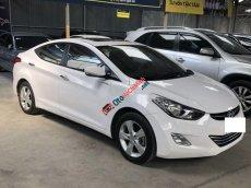 Bán xe Hyundai Elantra 1.8AT năm 2013, màu trắng, xe nhập số tự động