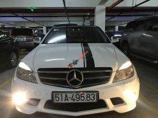 Cần bán gấp Mercedes C class sản xuất 2008, màu trắng