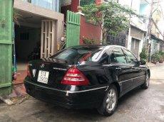 Bán ô tô Mercedes C200 2003, màu đen chính chủ giá cạnh tranh