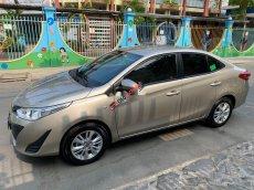 Bán Toyota Vios E năm sản xuất 2019, màu ghi vàng