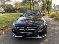 Bán xe Mercedes C200 đời 2018, màu đen như mới