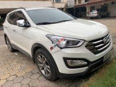 Cần bán Hyundai Santa Fe đời 2012, màu trắng, nhập khẩu nguyên chiếc.