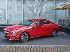 Cần bán xe Mercedes CLA200 sản xuất 2018, màu đỏ, nhập khẩu