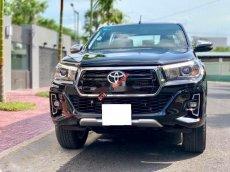 Bán xe Toyota Hilux 2.8G năm 2019, màu đen, nhập khẩu