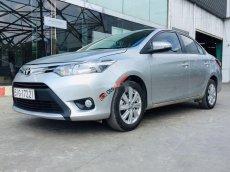 Cần bán lại xe Toyota Vios E năm 2018, màu bạc còn mới