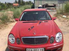 Bán xe Mercedes E240 AT năm 2003, màu đỏ số tự động, 230 triệu