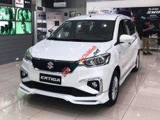 Bán ô tô Suzuki Ertiga GLX 1.5AT sản xuất 2020, màu trắng, nhập khẩu, sẵn xe, giao nhanh