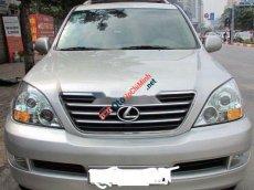 Cần bán lại xe Lexus GX đời 2005, màu bạc, nhập khẩu