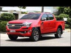 Bán ô tô Chevrolet Colorado đời 2017, màu đỏ còn mới