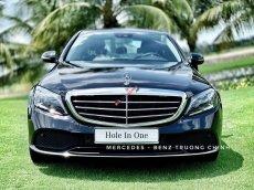 Cần bán Mercedes C200 Exclusive sản xuất năm 2018, màu xanh lam, xe trưng bày