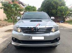 Bán Toyota Fortuner 2.5G đời 2013, màu bạc xe gia đình