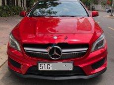 Bán ô tô Mercedes CLA45-AMG đời 2015, màu đỏ, xe nhập chính chủ