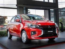 Cần bán xe Mitsubishi Attrage 1.2 CVT đời 2020, màu đỏ, xe nhập