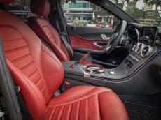 Bán Mercedes C300 AMG đời 2018, màu đen chính chủ