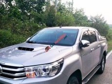 Bán Toyota Hilux 2015, màu bạc, nhập khẩu nguyên chiếc còn mới, 456tr