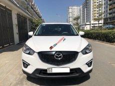 Bán xe Mazda CX 5 AT đời 2015, màu trắng xe gia đình