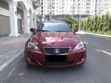 Bán xe Lexus IS250 2007, màu đỏ, xe nhập