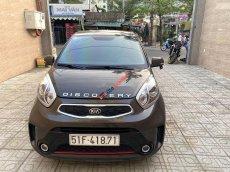 Cần bán xe Kia Morning Si 1.25AT 2016, màu nâu, giá 302tr