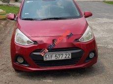 Cần bán gấp Hyundai Grand i10 năm sản xuất 2015, màu đỏ, xe nhập chính chủ, giá chỉ 285 triệu