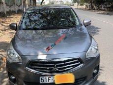 Cần bán gấp Mitsubishi Attrage đời 2015, màu xám, nhập khẩu, giá tốt