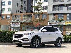 Bán xe Hyundai Santa Fe đời 2017, màu trắng, số tự động