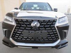 Bán xe Lexus LX 570 Super Sport S 2021, màu đen, nhập khẩu Trung Đông mới 100%