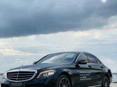 Cần bán lại xe Mercedes C200 Exclusive 2021 đời 2020, màu đen