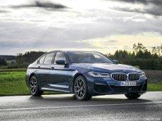 BMW 5Series all new 2021, Màu xanh lam, nhập khẩu nguyên chiếc, giá sốc